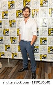 "Eoin Macken attends Comic-Con International San Diego 2018 - Syfy's ""Nightflyers"" press room, San Diego, California on July 19, 2018"