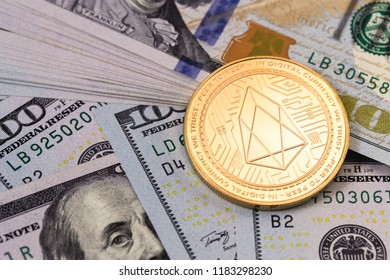 eos coin cryptocurrency with dollars