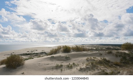 The Epha`s dune. Epha Height. Curonian spit. Baltic