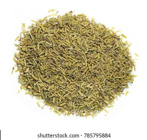 Ephedra sinica, chinese herbal medicine isolated. Ma huang