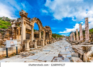 Ephesus Ancient City in Turkey