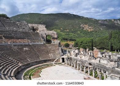 Efes Antik Tiyatro Stock Photos Images Photography Shutterstock