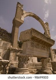 Ephesus in Kusadasi Turkey