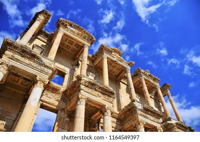 Ephesus Library of Celsus - Efes Ancient City İzmir Turkey