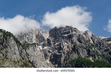 Epic mountain peaks