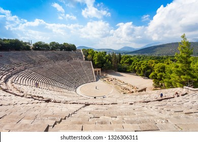 The Epidaurus Ancient Theatre is a theatre in the Greek old city of Epidaurus dedicated to the ancient Greek God of medicine, Asclepius.