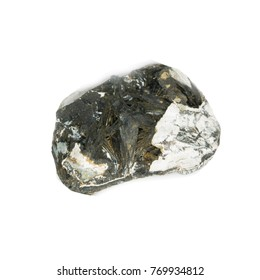 epidote stone  isolated