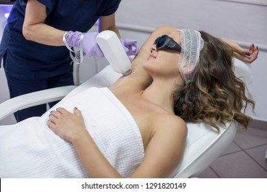 Epilation with diod laser