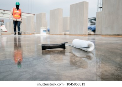 epoxy floor in warehouse factory japan construction site ,polishing stone concrete