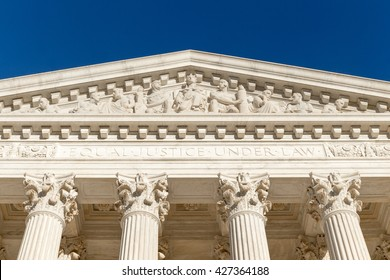 """Equal Justice Under Law"" (Text at the front of Supreme Court of U.S.)"