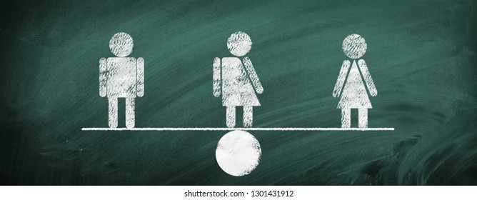 Equality - man, woman, gender
