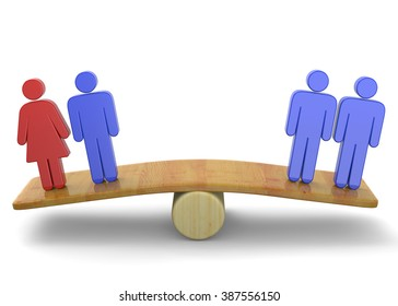 Equality Rights of Couple - Concept 3D