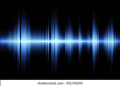 Equalizer sound wave background theme