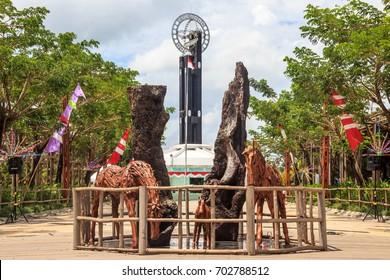 The Equator Monument â?? North Pontianak, Indonesia
