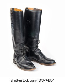 Equestrian or Mounted or Motorcycle Police, Riding Boots.