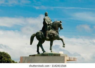 Equestrian Statue of John VI - Porto - Portugal