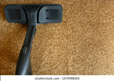 equipment for carpet steam cleaning. copy space
