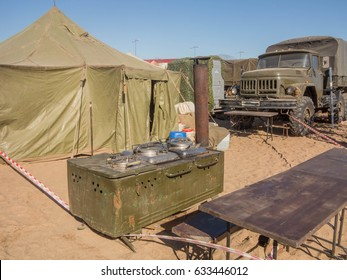 Equipment for cooking in military field conditions