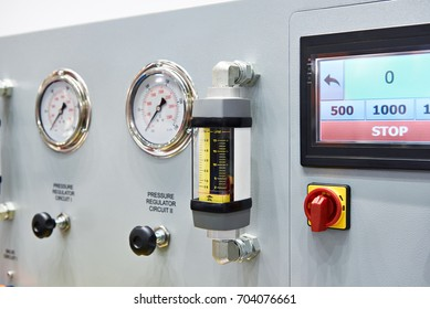 Equipment for diagnosis with pressure arrow indicators
