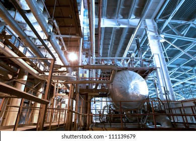 equipment in insulation at power plant