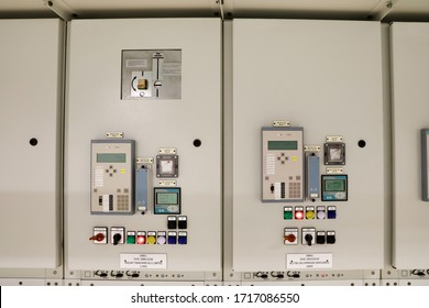 Equipment lay out on low voltage door of medium voltage switchgear outgoing feeder to auxiliary transformer and gas compressor