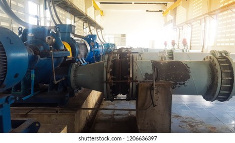 Equipment in the manufacturing plant, the water supply to the water according to the consumer for use in rural households.