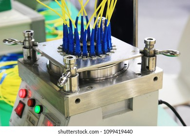 Equipment for production of optoelectronic cables and connections