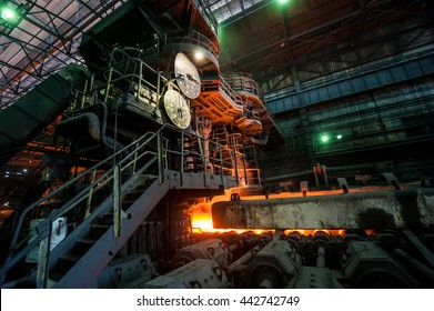 The equipment of the rolling mill