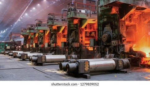 The equipment of the rolling mill for metal deformation