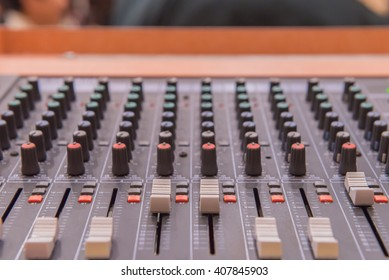 equipment for sound mixer control, electronic device.