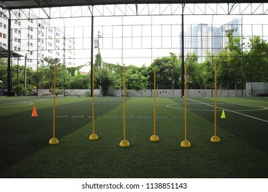equipment for training football