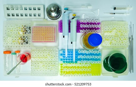 Equipments in microbiology laboratory