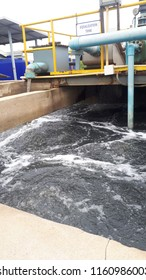 Equlization tank of wastewater