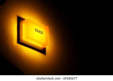 Erase button