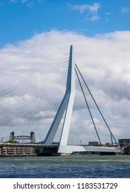 Erasmus Bridge, Rotterdam, South Holland, The Netherlands