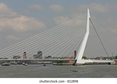 Erasmusbridge (Rotterdam, The Netherlands)