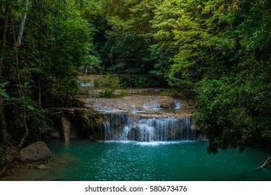 Erawan waterfall, kanjanaburi, Thailand (2-1/2th floor)