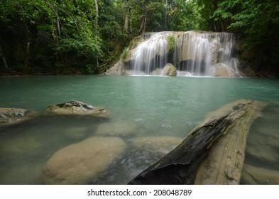 Erawan waterfall,Paradise of Kanchanaburi,Thailand
