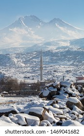 Erciyes Kayseri Turkey, Erciyes under snow, Erciyes winter