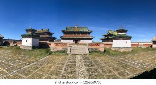 Erdenezuu Monastery, Karakorum, Mongolia, Asia