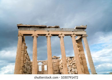 Erechtheion, Acropolis of Athens, Greece