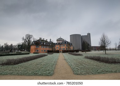 Eremitage waghäusel in Germany in Baden