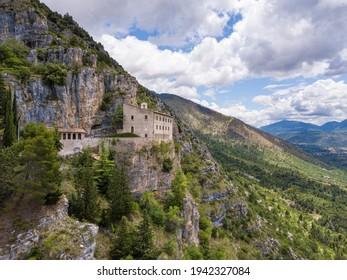 Eremo di sant'Onofrio al Marrone, Sulmona, Abruzzo, Italy