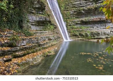 The Erfelek waterfall in Sinop Turkey