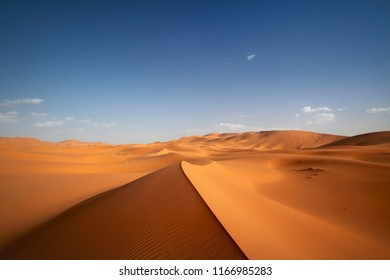 Erg chebbi dunes, Sahara desert Morocco