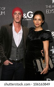 Eric Balfour and Leonor Varela   at the D and G Flagship Opening in Support of The Art of Elysium. D and G, Beverly Hills, CA. 12-15-08