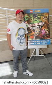 """Eric Bauza  arrives at the premiere of """"LEGO DC Comics Super Heroes - Justice League: Gotham City Breakout"""" on July 9, 2016 at the Paley Center in Beverly Hills, CA."""