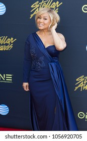 Erica Campbell attends the 33rd Annual Stellar Gospel Music Awards at the Orleans Arena on March 24th, 2018 in Las Vegas, Nevada - USA