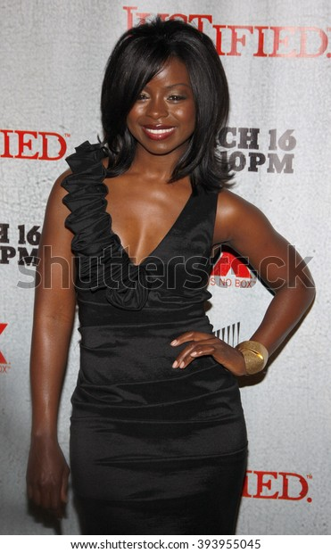 Erica Tazel Premiere Screening Fxs Justified Stock Photo Edit Now 393955045 More at imdbpro » contact info: shutterstock