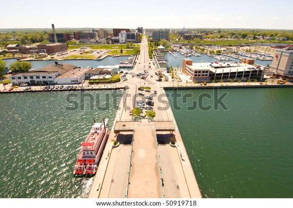 Erie skyline